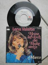 Single - Lena Valaitis - Heinz, laß doch die Pauke steh`n / Marco