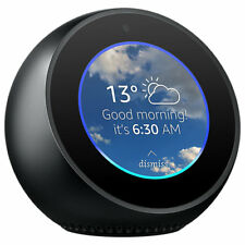 Amazon Echo Spot Smart Speaker & Alexa Voice Recognition & Control, Black