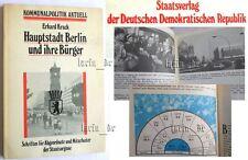 DDR Buch / Broschüre ü. Hauptstadt Berlin Staatsorgane, SED CDU FDJ NDPD DFD ...