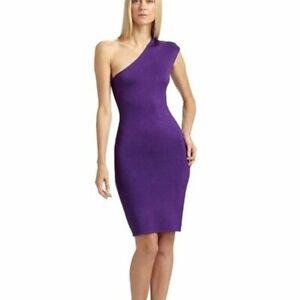 NWOT Ralph Lauren Black Label One Shoulder Knit Dress Women's Size Small