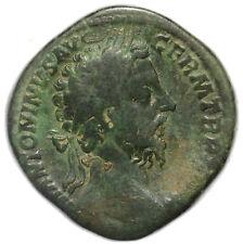 ROMAN BRONZE COIN SESTERTIUS MARCUS AURELIUS FIDES (CONCORDIA) AE30 20,46g