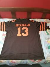 Odell Beckham Jr Cleveland Browns Rush Home Jersey #13 On-Field *US shipping