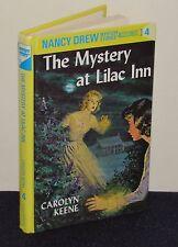 Nancy Drew #4 The Mystery at Lilac Inn Flashlight Glossy HC Carolyn Keene 1995
