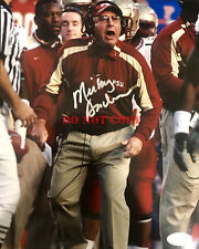 Mickey Andrews Florida State Seminoles FSU Signed 8x10 Photo Reprint