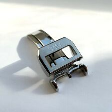18mm Stainless Steel 316L Deployment Buckle Clasp For IWC Watch