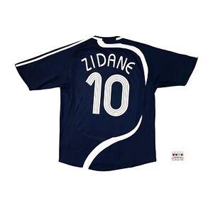 Zinedine Zidane Charity Match Against Poverty Soccer Jersey XL Adidas