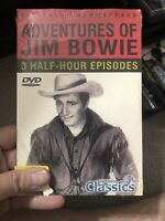 The Adventures of Jim Bowie (DVD, 2004) OLD CLASSIC