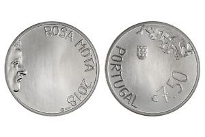 7,5 euro 2018 Ag argento 50% Portogallo Portugal Rosa Mota Португалия ポルトガル 葡萄牙