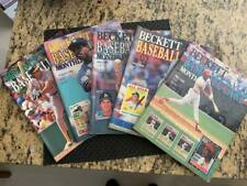 30 1987 to 1991 Beckett Baseball Price Guides