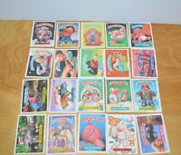 Vintage GARBAGE PAIL KIDS TRADING CARDS Lot 1986 1987 1988 GPK Stickers Topps 22