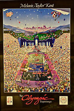 Orig 1984 Los Angeles Olympic Poster OLYMPIC EXPERIENCE Melanie Taylor Kent LA