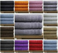 Real Egyptian Combed 3 Pack Bath Towels 550 Gsm Extra Large size bath towel