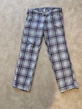 Jack Wills Womens Pjama Bottoms Trousers Size 8 Lounge Pants 100% Cotton