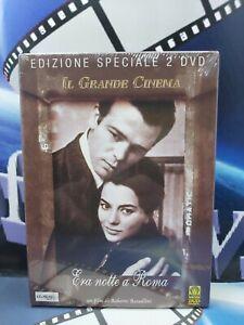 ERA NOTTE A ROMA - ROBERTO ROSSELLINI - EDIZIONE SPECIALE 2 DVD - NUOVO
