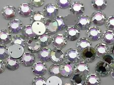10mm SS46 Crystal Clear AB H702 Sew On Rhinestones - 70 Pieces