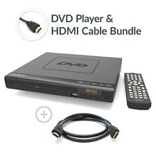 Compact DVD Player HDMI Upscaling USB Multi Region DivX & HDMI Cable