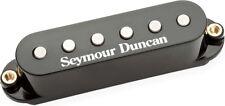 Seymour Duncan STK-S4m Classic Stack Plus Low-Hum Strat Middle Pickup, 3C, Black