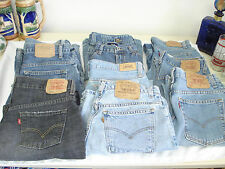 Retro Jeans Lot 10 Levi Gap American Eagle Denim Boot Cut Jeans Skirts Shorts