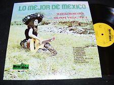CUTE Sombrero GAL LP New-Mex MARIACHI MEXICO De Pepe Villa Vol. 4 LO MEJOR Clean