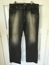 """Mens Lee JEANS SIZE 87cm S (W34 L32) """"LO-SLOUCH"""""""