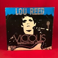 "LOU REED Vicious (Vicioso) 1973 Spanish 7"" Vinyl Single EXCELLENT CONDITION"