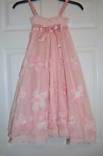 Luna Luna Copenhagen Girls Pink Flower Sundress Size 12  - New