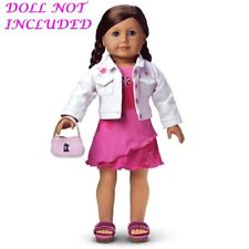"""AUTHENTIC AMERICAN GIRL JLY LICORICE'S BEST FRIEND OUTFIT FOR 18"""" DOLL (295)"""