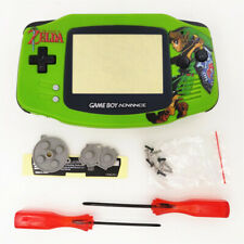 Zelda Link Sword Green Shell Case Housing for Nintendo Game Boy Advance GBA