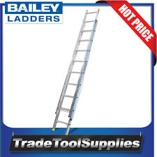 Bailey Ladders Pro 3.0m to 5.2m Extension Aluminium 10 Step 150Kgs FS13623
