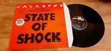 """Vinyle Maxi 45T Jacksons """"State Of Shock"""" - Le seul sur EABY avec l'étiquette NM"""