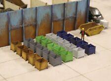 More details for bulkscene - model stillage containers oo gauge 1/76 - large pack of 25