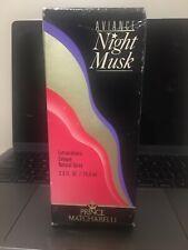 Prince Matchabelli Aviance Night Musk 2.6oz Women's Eau de Cologne