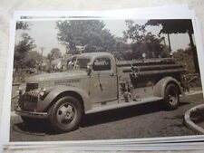 1946 CHEVROLET FIRETRUCK  ABSECON NJ 11 X 17  PHOTO /  PICTURE
