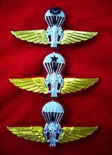Royal Thai Army Parachutist Wings Badge PIN Thailand Military Lot of 3 Pins