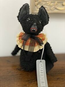 JOE SPENCER GATHERED TRADITIONS HALLOWEEN BAT DOLL NWT Retired