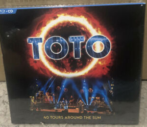 TOTO - 40 HOURS AROUND THE SUN [2 CD+BLURAY] NEW & SEALED