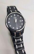 Brand New Citizen Eco Drive Black Ladies Watch with Diamonds GA1034-57G RRP$499