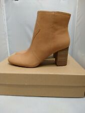 Lucky Brand Women's Fashion Leather Boot LK-Sheirin , Latte Bewell Size 8 M