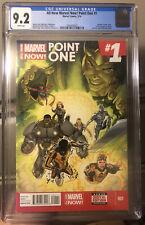 All-New Marvel Now! Point One #1 CGC 9.2 1st full Kamala Khan Ms. Marvel Disney+