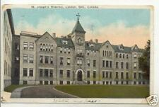 Old Postcard 1924 London Ont Canada St. Joseph's Hospital