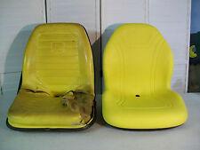 YELLOW SEAT JOHN DEERE F1145,F910,F911,F912,F915,F925,F930,F932,F935 MOWERS #BM