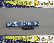 """3078 TARGHETTA COFANO LATERALE VESPA PX 125 """" PX125E """"  LUSSO"""
