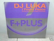 "*****D.J. LUKA""""I FOUND PEACE-Remixes""-12""Inch*****"