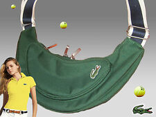 LACOSTE Ladies Womens Shoulder Backback Bag Casual 2.11 Forrest Green AUTHENTIC