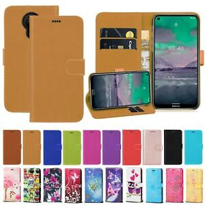 For Nokia 2.4 3.4 1.3 1.4 2.3 Leather Wallet Case Cover Flip Pouch Card Holder