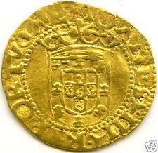 PORTUGAL JEAN III CRUZADO OR GOLD N.D LISBONNE RARE !!!
