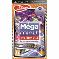 Compilation Mega Minis volume 3 (5 jeux inclus) *- Complet -* | Sony PSP