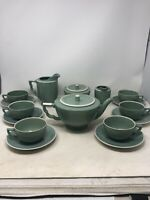 Vintage Mid Century Modern Tea Set Denmark Agnete Set Good Look RARE