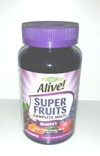 NEW Nature's Way Alive! Super Fruits Complete Multi Women's Gummies SEALED 2021