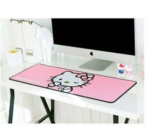Hello Kitty Wide Big Long Nonslip Mouse Desk Pad Cute Computer Accessory